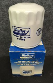 Find New OEM Mallory Oil Filter Part # 9-57808 Sierra # 18-7906 motorcycle in Scottsville, Kentucky, United States, for US $6.99