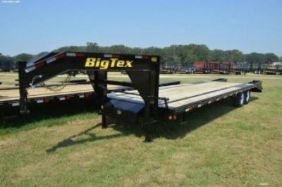 Big Tex Tandem Axle Gooseneck w/Mega Ramps