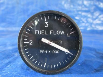 Purchase GE Fuel Flow Indicator P/N: 8DJ64GBA1 Cessna Piper Beechcraft (2995) motorcycle in Melbourne, Florida, United States