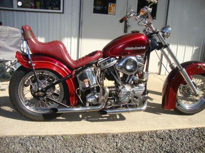 FS: 1950 Harley Davidson Panhead Chopper