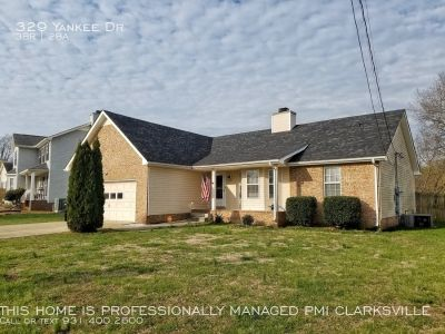 Brick Front Home with Huge Yard in Cul-De-Sac