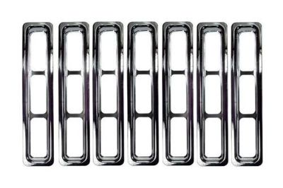 Find Rugged Ridge 11306.02 - 97-06 Jeep Wrangler Front Stainless Steel Grille Inserts motorcycle in Suwanee, Georgia, US, for US $67.78