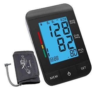 AlphaMed Upper Arm Blood Pressure Monitor with Large Screen Display