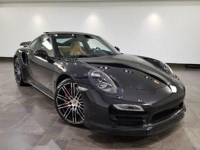 2014 Porsche 911 Turbo (Basalt Black Metallic)