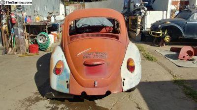 1967 VW Bug Rear Clip with Hood