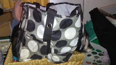 Thirty one organizing utility tote EUC $18 must pick up by this Friday