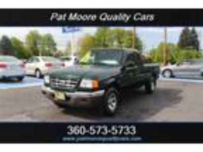 2002 Ford Ranger XLT 3.0L V6 154hp 180ft. lbs.