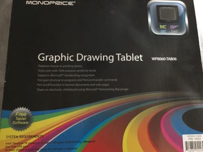 Graphic drawing tablet Monoprice