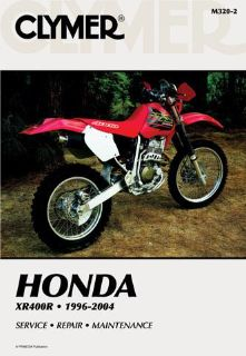 Buy 1996-2004 Honda XR400R CLYMER MANUAL HONDA XR400R 1996-2004 M3202 motorcycle in Ellington, Connecticut, US, for US $34.95