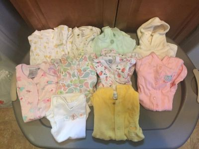 Lot of baby clothes 0-3 months