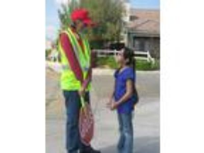 School crossing guard-part time