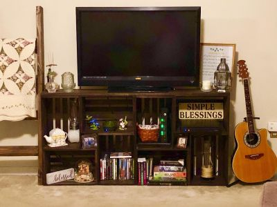 Made to order Entertainment/TV stand