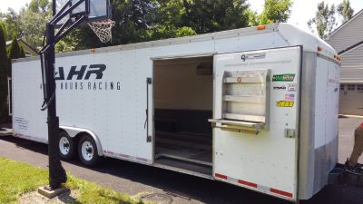 26x8.5 Haulmark Elite II enclosed car trailer
