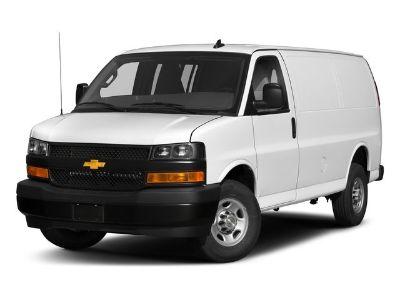2018 Chevrolet Express Cargo Van Work Van (Summit White)