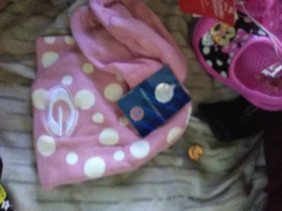 Ga infant hat and glove set