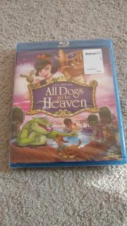 All dogs go to Heaven blu ray