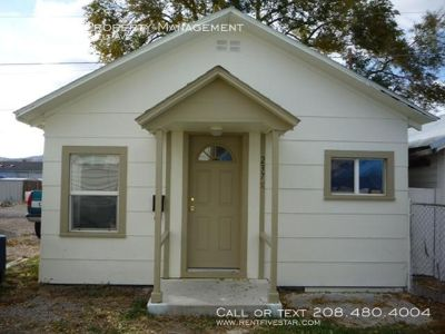 Get a house to yourself for the price of a crowded apartment! Entire inside was just remodeled a couple years ago including kitchen cabinets, countertops, and bathroom vanity and shower.