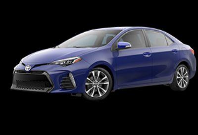 2018 Toyota Corolla L (Blue Crush Metallic)