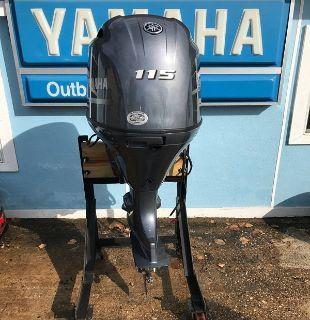 Used Yamaha 115HP 4 Stroke Outboard Motor Engine