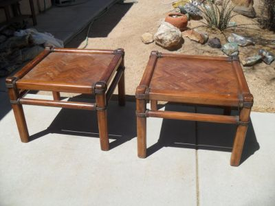 %% 2 X End Tables %%