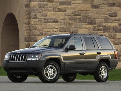 2004 Jeep Grand Cherokee Limited (Bright Silver Metallic Clearcoat)