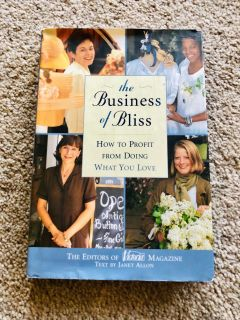The Business of Bliss hard back