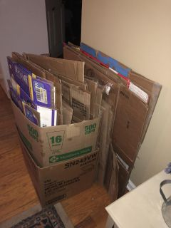 Free Moving Boxes... Front Porch Pick Up PM For Address