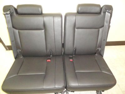 Find 2008-2009 HUMMER H2 3RD ROW SEATS ( SET ) EBONY BLACK LEATHER MINT CONDITION motorcycle in Houston, Texas, US, for US $1,199.00