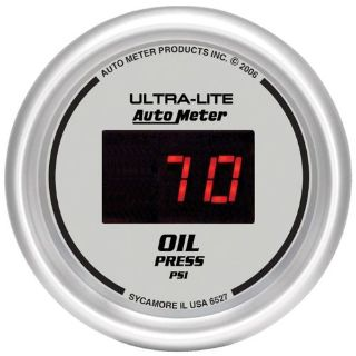 Purchase Auto Meter 6527 Ultra-Lite; Digital Oil Pressure Gauge motorcycle in Rigby, Idaho, United States, for US $123.95