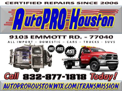 Car Truck SUV CERTIFIED Diagnostics and Repair - Jersey Village TX