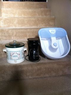 Coffee Maker and Foot Bath