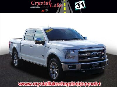 2016 Ford F-150 King Ranch (White)