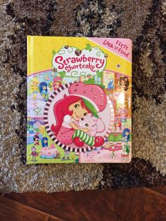 Strawberry Shortcake look and find.