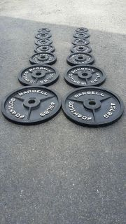 Olympic Plates-255lbs