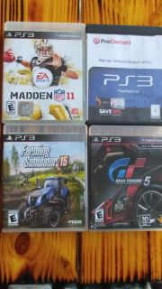 Ps3 misc games