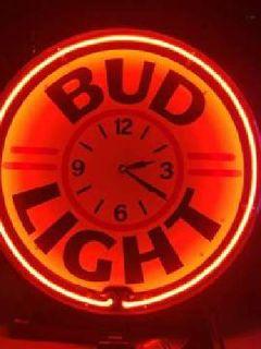 Bud Light Large Neon Light