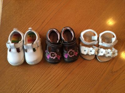 Toddler Girl Shoes-Size 3