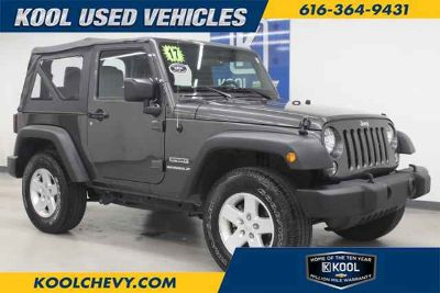 Used 2017 Jeep Wrangler 4x4