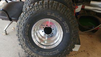 35x12.50x15 Mickey Thompson Baja Mtz on Real Racing wheels