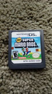 Nintendo DS game New Super Mario Bros. Works perfectly