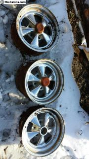 Chrome Crager style Buggy wheels
