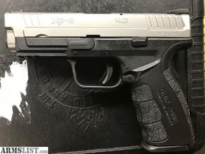 For Sale: Springfield XD Mod.2 9mm 4'' Mod 2 10+1