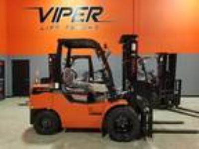 2019 Diesel Viper Lift Trucks FD35 Pneumatic Tire 4 Wheel Sit Down