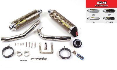Find Two Brothers Honda 919 2002-2007 Slip-On Exhaust Carbon Fiber Dual motorcycle in Elkhart, Indiana, US, for US $626.36