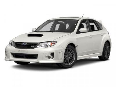 2012 Subaru Impreza WRX Base (BLACK)