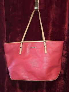 Large Red Nine West Purse/Tote