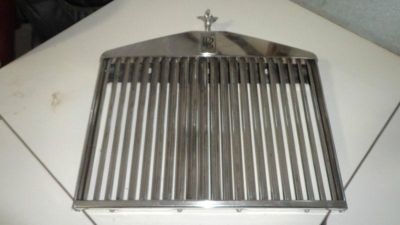 Buy ROLLS ROYCE GRILLE W/ MASCOT WILL FIT FROM 1975 TO 1980 motorcycle in Canutillo, Texas, US, for US $2,000.00