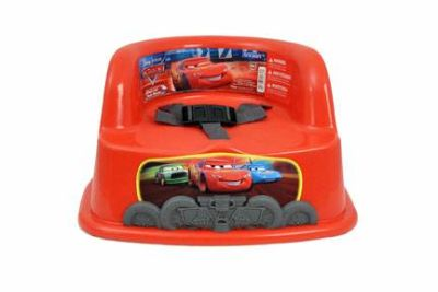 Booster Seat for attaching to adult size chairRust-eze Red Cars