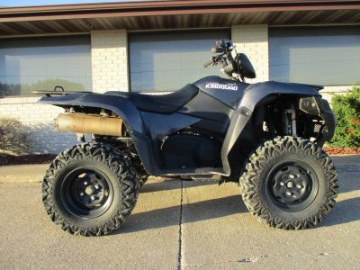 2016 Suzuki Motor of America Inc. KingQuad 750AXi Power Steering Limited Edition Utility ATVs Winterset, IA