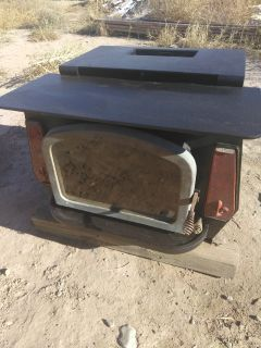 REDUCED Wood burning stove heavy metal